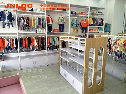 买服装展示架优选上海晋隆货架-加盟服装展示架
