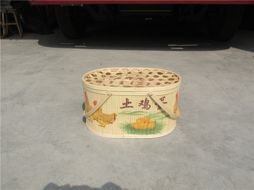 品質橢圓形竹籃現貨供應-日照竹籃電話