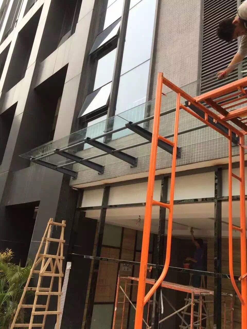 佛山瞻高幕墙开窗 /幕墙玻璃开启自动窗 /幕墙玻璃开窗改造