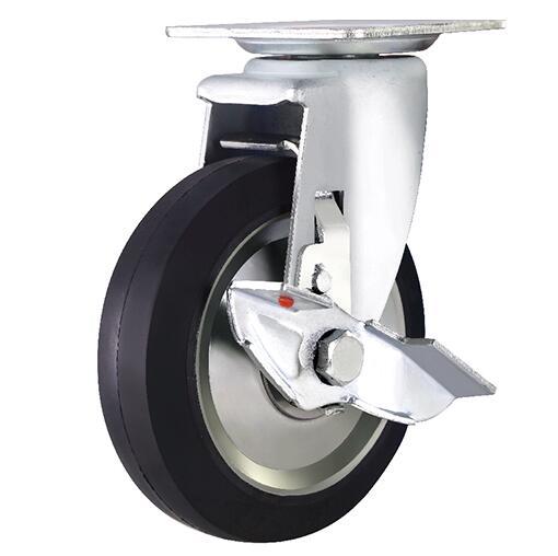 苏州哪里有卖价格适中的刹车脚轮——中国刹车脚轮