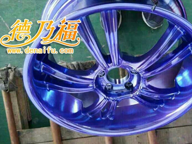 全国轮毂彩绘价格-想买实惠的轮毂电镀样式,就来德乃福科技