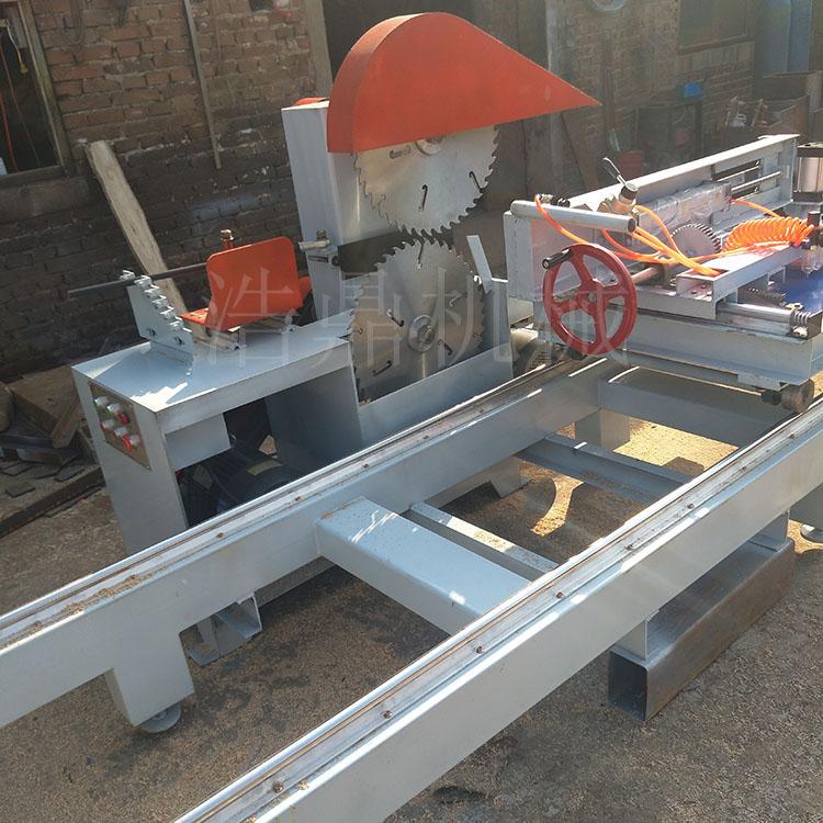 四轴圆木推台锯|浩鼎机械提供好用的圆木推台锯