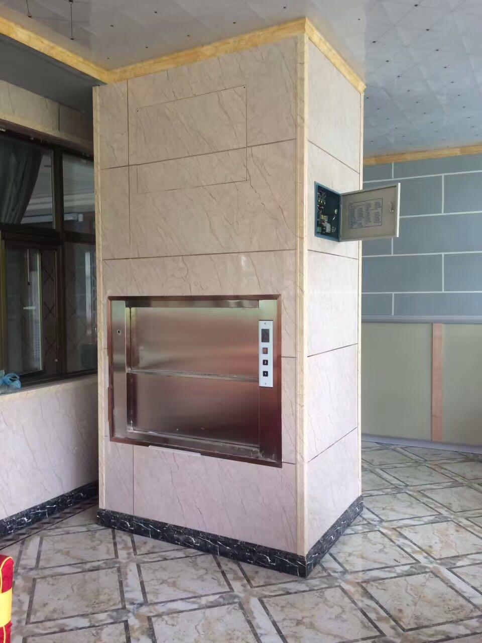 物超所值的传菜电梯|专业的传菜电梯当选甘肃永佳机电