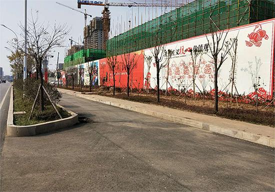 北京围挡施工|上哪里买户外广告围挡好