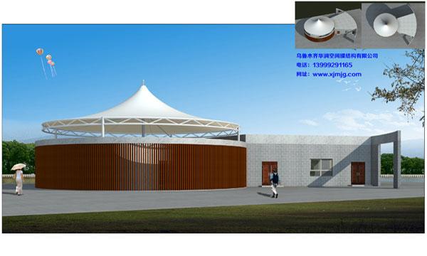 景观膜结构工程,购买新疆膜结构就来华润空间膜结构