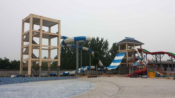 水上滑梯系列|选购大回环认准广州星江源游乐设备