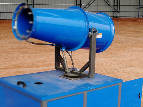 山东工地环保移动式高射程除尘雾炮机