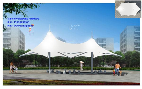 华润空间膜结构专业提供新疆景观膜结构制造-新疆景观膜结构厂家批发