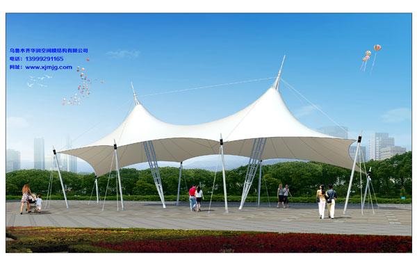 奎屯景观膜结构-安装快捷的新疆景观膜结构推荐