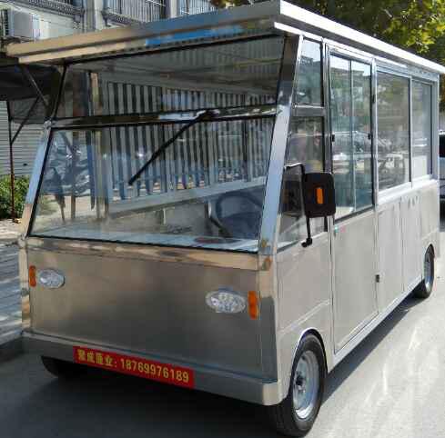 临沂四轮电动餐车哪家好——餐车定制认准聚成电动餐车有限公司