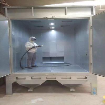 环保喷砂-想买价位合理的全自动喷砂机喷砂房小型喷砂-就来汇冠喷砂设备科技