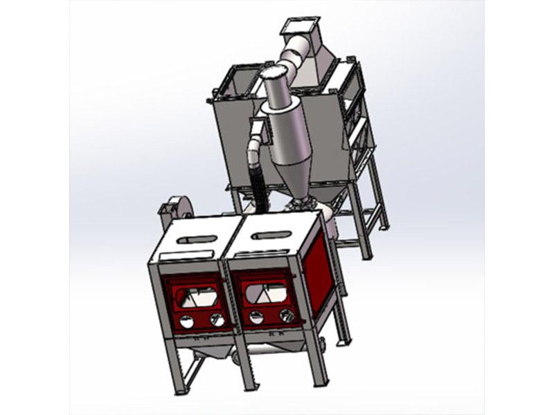供应多工位钻头自动喷砂机-超值的滚筒喷砂机设备供应信息