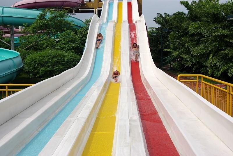 彩虹滑梯厂家 看到就想玩的彩虹滑梯