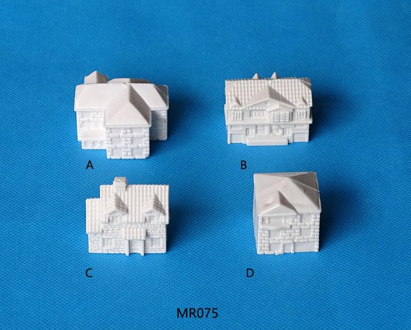 专业设计制造别墅模型-别墅景观规划图