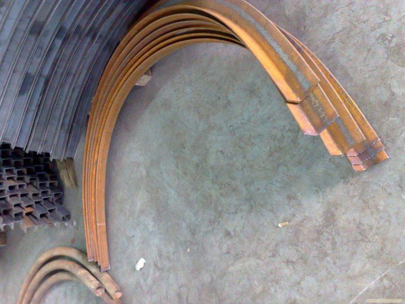 甘肅工字鋼拉彎加工_自然圓弧提供蘭州地區銷量好的工字鋼拉彎