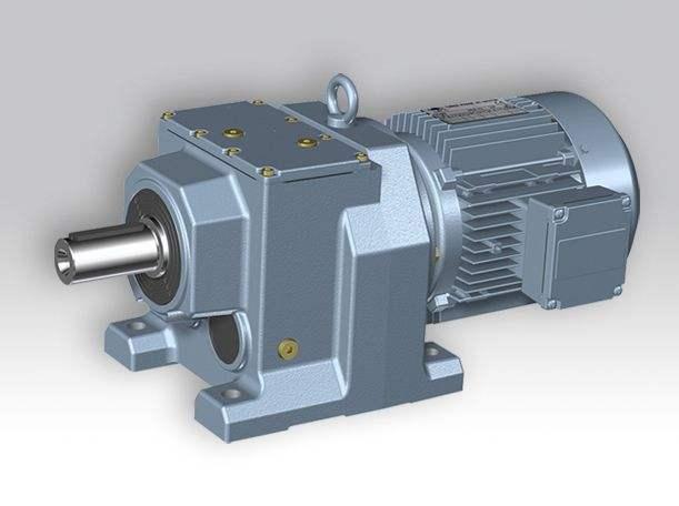 重庆S系列斜齿轮蜗轮减速机——子杰传动设备提供有品质的R系列斜齿轮硬齿面减速机