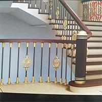 优质的沈阳铜艺楼梯-沈阳大圣铁艺口碑好的铜艺楼梯销售商