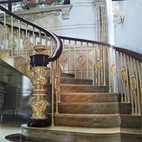 优质的沈阳铜艺楼梯_哪儿有卖质量好的铜艺楼梯
