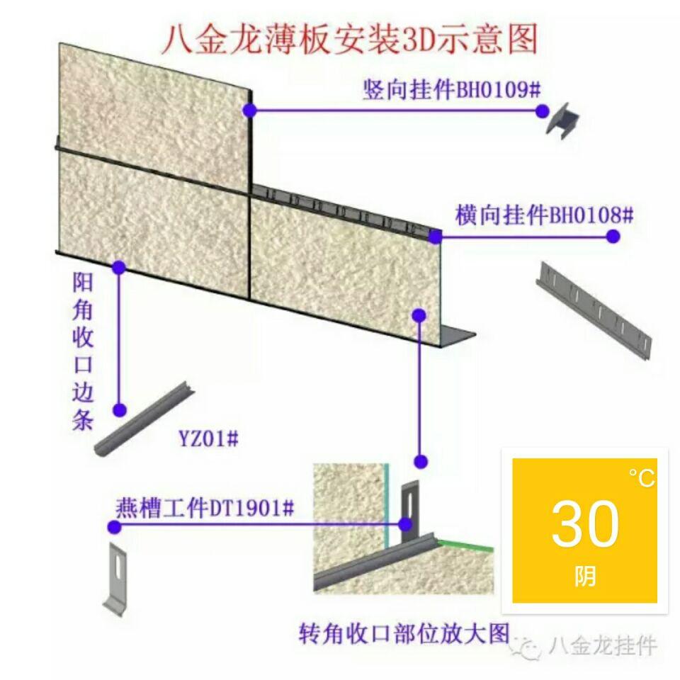 挂件高级版 装饰一体化挂件(八金龙挂件公司)