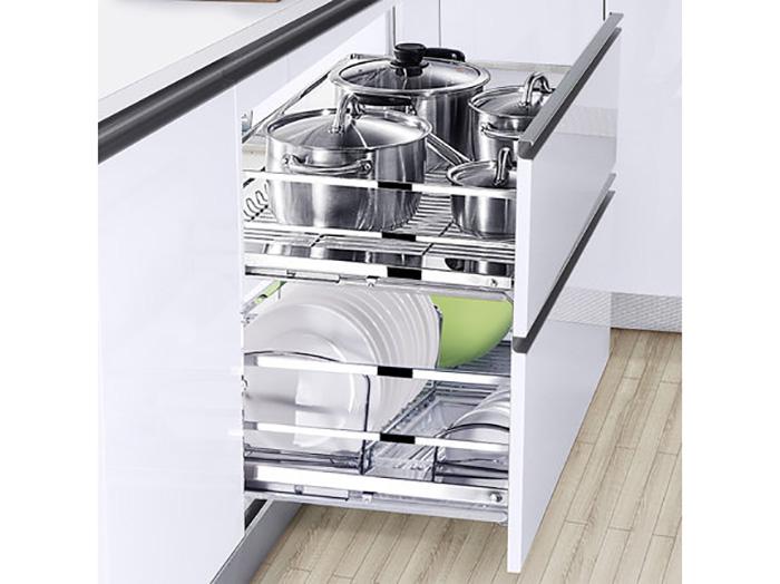 宁夏价格优惠的厨房拉篮品牌 内蒙厨房拉篮