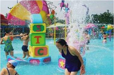 游乐场互动水屋-购买大型互动戏水
