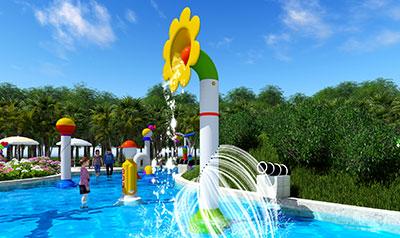 水上乐园货真价实-旺美机构品牌好的大型互动戏水出售