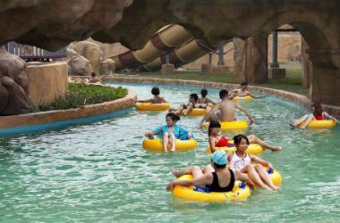 漂流河水上游乐设备厂家-供应广东漂流河