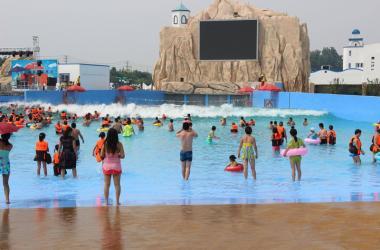優良的造浪池就在廣州旺美游樂設備-造浪池批發