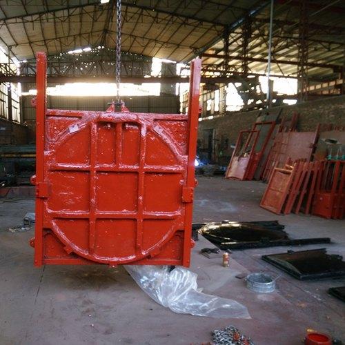 自动钢翻板闸门-厂家直销液压翻板闸门钢坝推荐