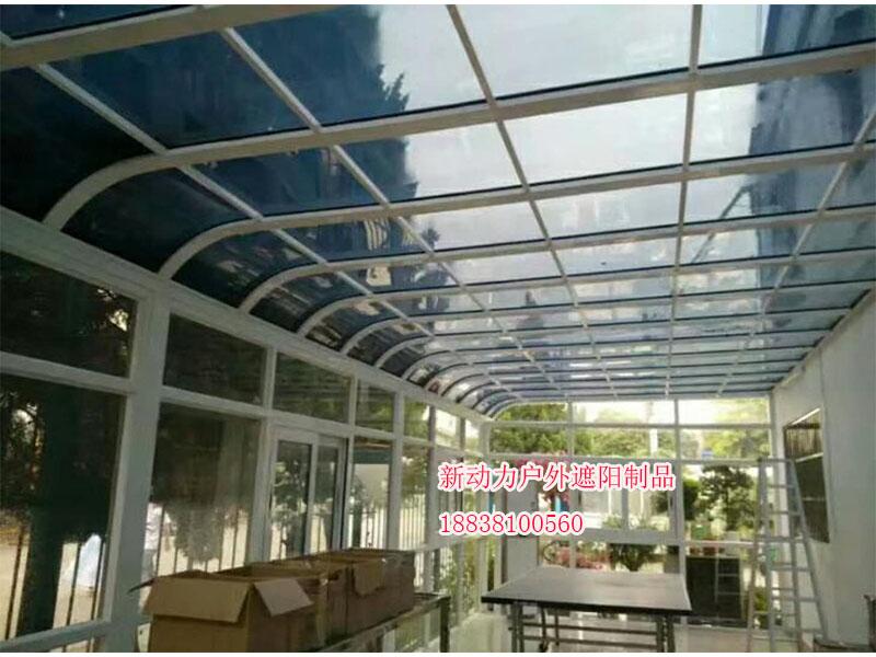 耐力板雨棚厂家直销——洛阳耐力板雨棚项城