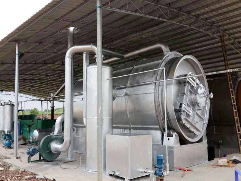 环保型废旧塑料炼油设备