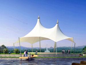上海景观设施报价——上海景观膜结构车棚厂家