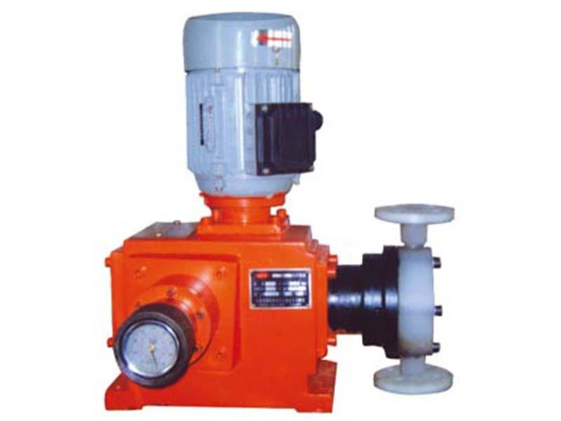 鸿业环保设备厂专业供应机械隔膜计量泵,小型化工计量泵