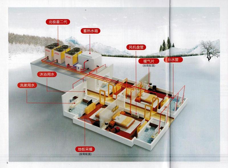 空气能热泵十大品牌 陕西好用的空气能热泵供应