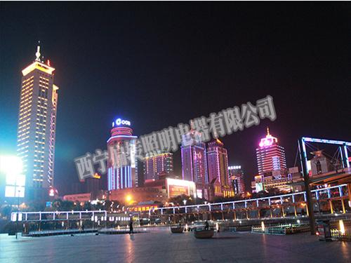 陕西景观照明施工|上哪找专业的亮化工程