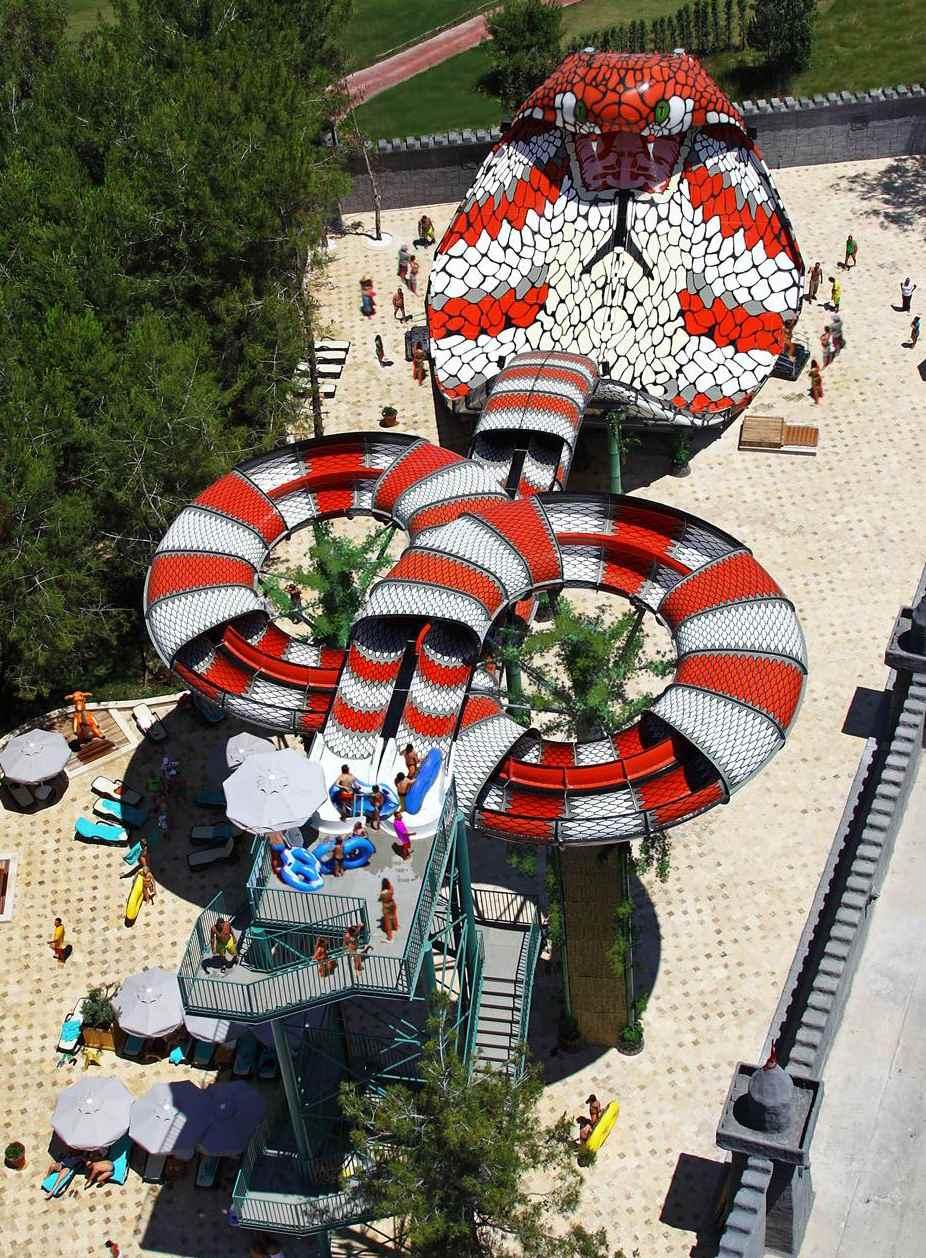 優良眼鏡王蛇水滑梯找廣州星江源游樂設備-水滑梯在哪有