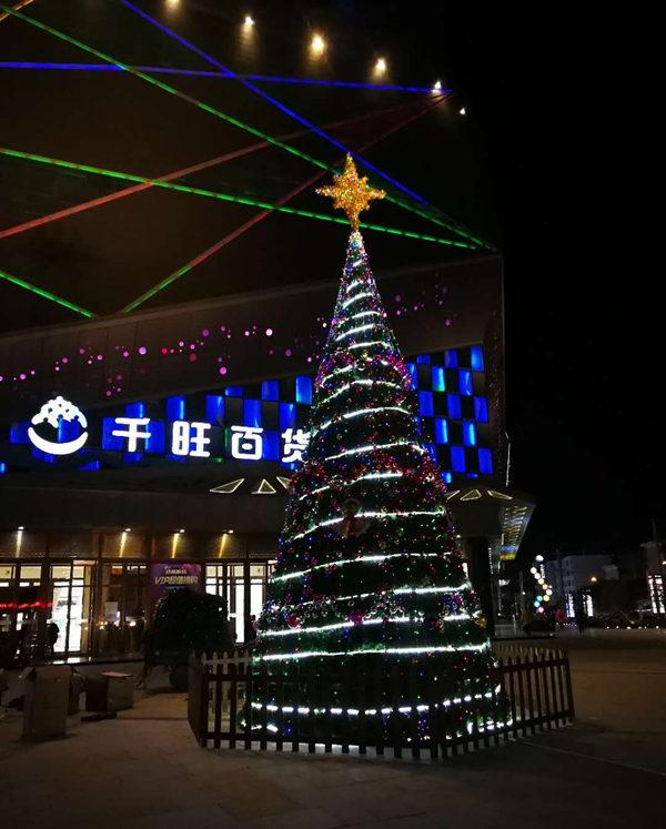 西安物超所值的仿真圣诞树哪里可以买到_万盛仿真圣诞树
