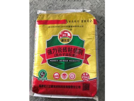 强力瓷砖粘结剂品牌_福建专业的强力瓷砖粘结剂供应商