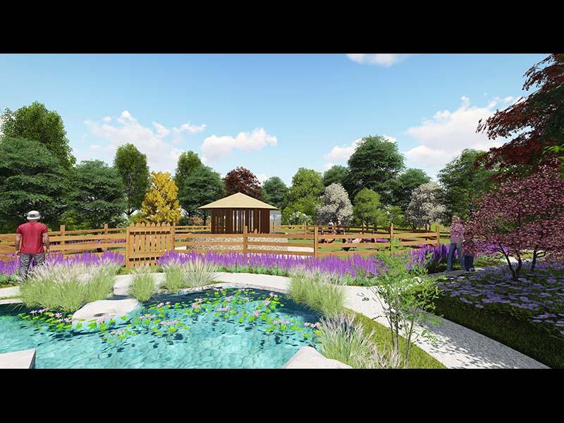 武威立体绿化设计公司-想要专业的甘肃立体绿化设计施工就找甘肃一山园林景观设计公司
