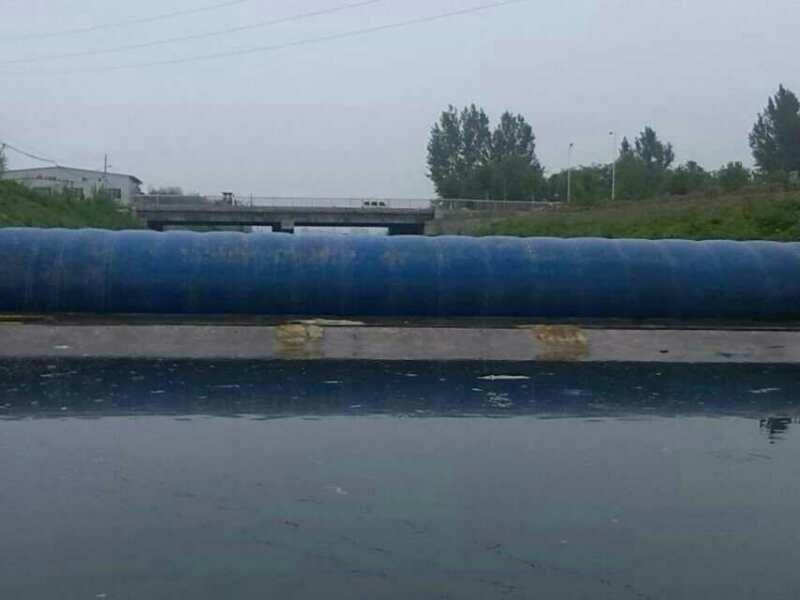 河道治理应用橡胶水坝