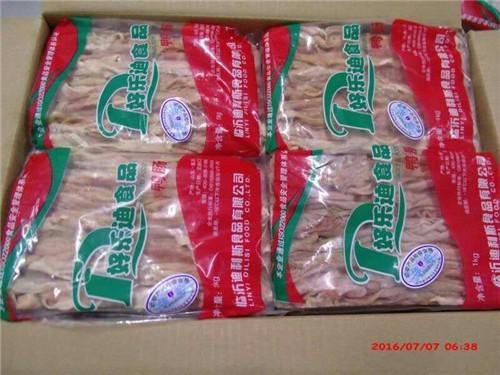 鴨腸代理-臨沂物超所值的好樂迪板凍大鴨腸批售