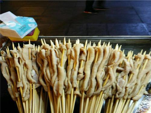 铁板鸭肠串直销|临沂哪里有供应价格优惠的铁板鸭肠串