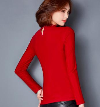 信誉好的冬季保暖打底衫厂家|青海加厚加绒打底衫