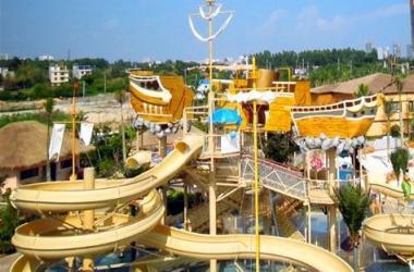 水上滑梯设备-广东超值的组合滑梯