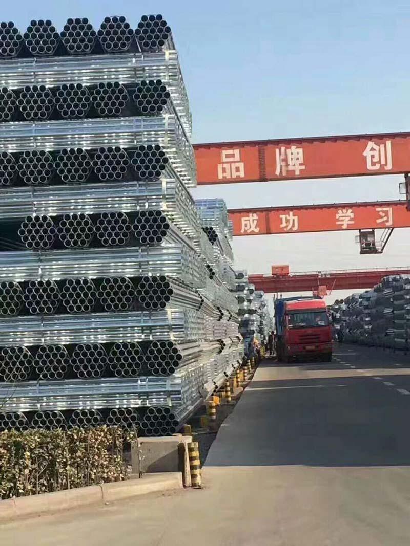 河南镀锌管多少钱|郑州领先的河南镀锌钢管厂家