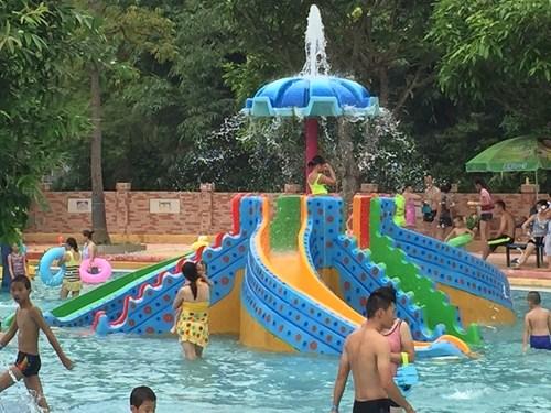 水上公园加盟|新品蛇形滑梯就在广州星江源游乐设备