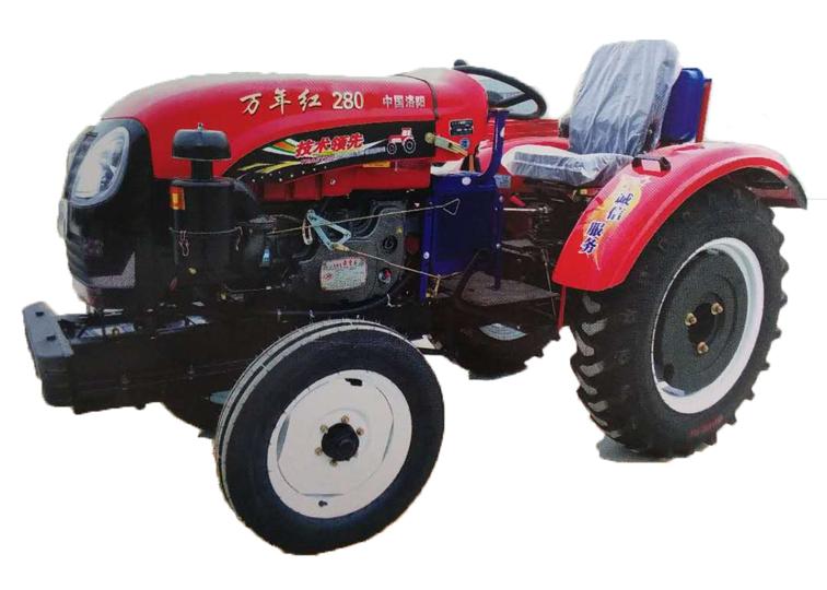 洛阳哪里有专业的万年红280P拖拉机供应|厂家批发拖拉机