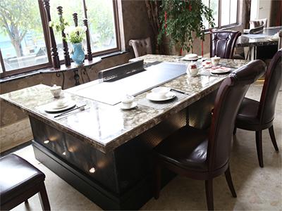 上海创绿酒店设备——质量好的长方形铁板烧提供商——长方形铁板烧低价甩卖