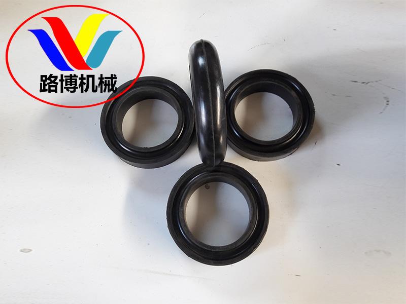 想买质量有保障的托辊橡胶圈就到沧州路博机械-新式橡胶圈