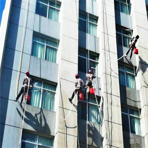 外幕墙玻璃翻新广州有提供 _幕墙渗漏打胶